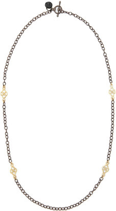 """Armenta Short Gold-Station Cable-Chain Necklace, 18""""L"""