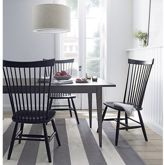 Crate & Barrel Lancaster Extension Dining Table
