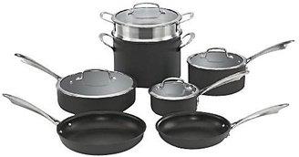 Cuisinart DSA-11 Dishwasher Safe Hard Anodized 11pc Cookware Set