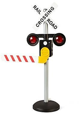 JCPenney Train Toy, Railroad Crossing Play Set