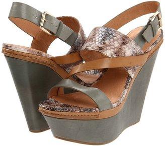 Modern Vintage Vera (Light Blue/Taupe Blue/Sand) - Footwear
