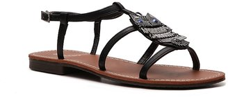 Bamboo Cable-12 Flat Sandal