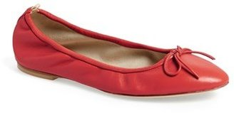 Sarah Jessica Parker 'Gelsey' Nappa Leather Skimmer Flat (Nordstrom Exclusive)