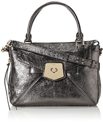 Botkier NY Armor Satchel Top Handle Bag