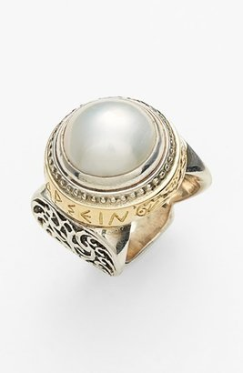 Women's Konstantino 'Classics - Courage' Pearl Ring $1,020 thestylecure.com