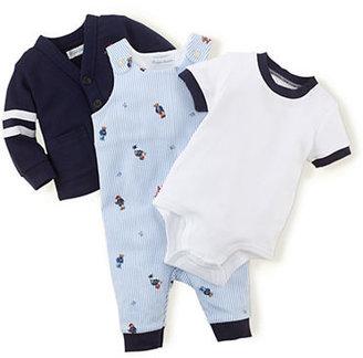 Ralph Lauren Newborn Boys 0-9 Months Cardigan & Coverall & Bodysuit Set
