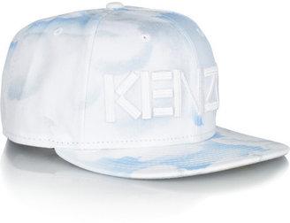 Kenzo New Era cloud-print twill cap
