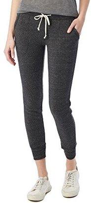 Alternative Women's Eco-Fleece Slim Fit Jogger Pant $54 thestylecure.com