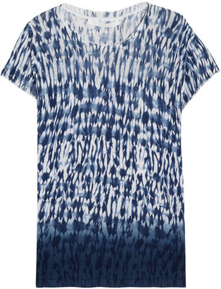 Thakoon Tie-dye knitted cotton T-shirt