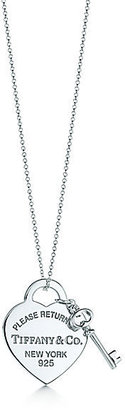 Tiffany & Co. Return to Heart Tag with Key Pendant