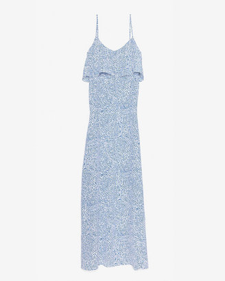 Intermix Exclusive For Sasha Silk Print Maxi Dress