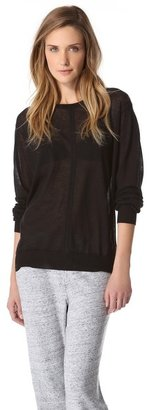 Alexander Wang Long Sleeve Pullover
