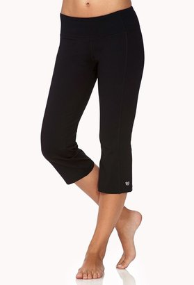 Forever 21 active cinched workout capris