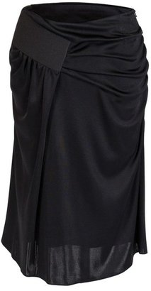 Octavio Pizarro Jersey Black Skirt