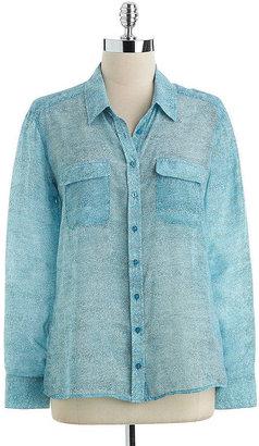 GUESS Denim Texture Eva Shirt