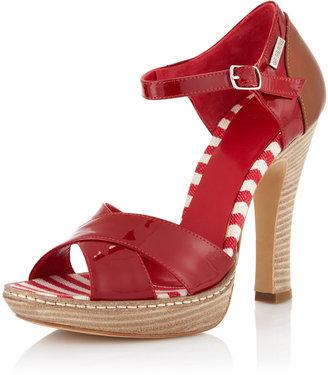 Gianfranco Ferre GF Fdadb Ankle-Strap Pump, Red