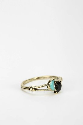 Urban Outfitters Double Moon Ring
