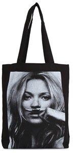 Little Eleven Paris Kate Moss Canvas Tote Bag
