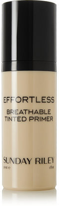 Sunday Riley - Effortless Breathable Tinted Primer - Light, 30ml $48 thestylecure.com