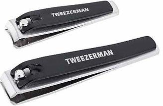 Tweezerman Combo Nail Clippers Set, Black