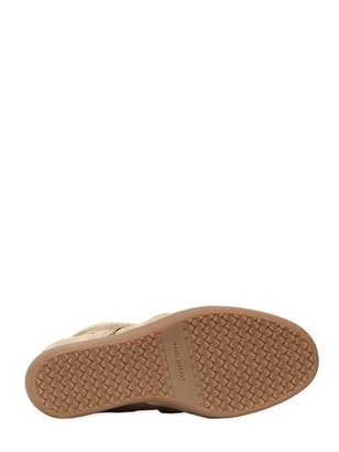 Isabel Marant Etoile 80mm Bobby Suede Sneakers