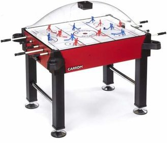 """58"""" Two Player Rod/Stick Hockey with Digital Scoreboard Carrom Color: Red"""