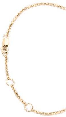 Jennifer Zeuner Jewelry Mini Faith Hand Chain