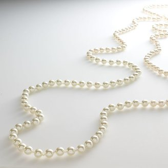 Croft & barrow ® gold tone simulated pearl long necklace
