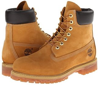 Timberland 6 Premium Waterproof Boot (Rust Nubuck) Men's Lace-up Boots