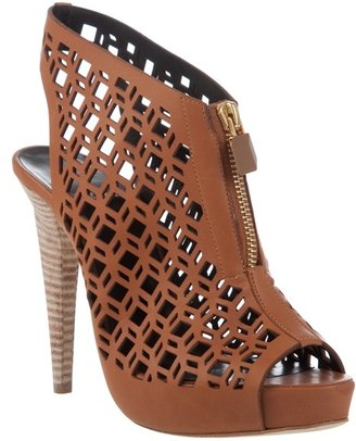 Pierre Hardy Leather cut out sandal