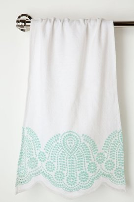 Anthropologie Half-Shell Hand Towel