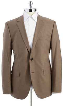 HUGO BOSS Classic Fit Houndsooth Jacket