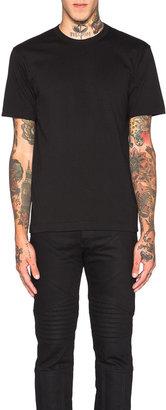 Comme des Garçons Shirt 'Forever' Cotton Tee in Black | FWRD