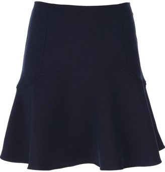 Le Mont St Michel flared high-waisted skirt