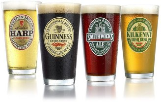 Luminarc irish brews 4-pc. pub glass set