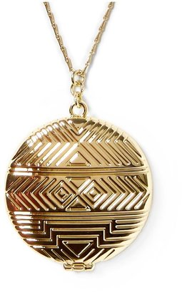 House Of Harlow Medallion Locket Pendant