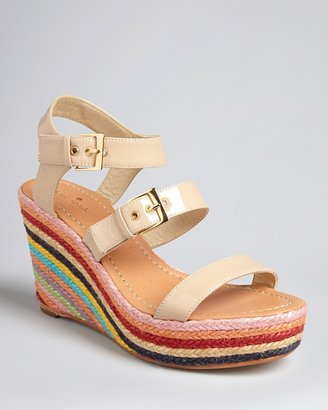 Kate Spade Platform Wedge Sandals - Darla Rope Espadrille