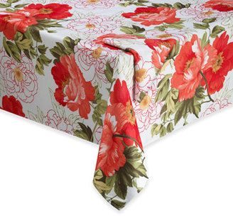 Bed Bath & Beyond Blossoms Tablecloth and Napkin
