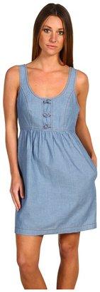 Tibi Tank Dress (Chambray Blue) - Apparel