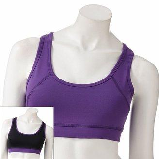 Tek gear ® sports bra low-impact reversible