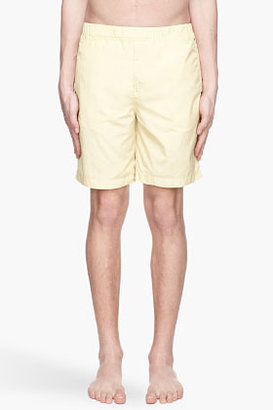 Alexander Wang Yellow nylon swim shorts