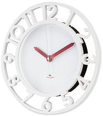 Michael Graves Design White Wall Clock
