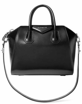 Givenchy - Small Antigona Bag In Black Leather - one size $2,290 thestylecure.com