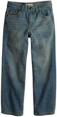 Sonoma Goods For Life Boys 4-12 Relaxed Jeans in Regular, Slim & Husky