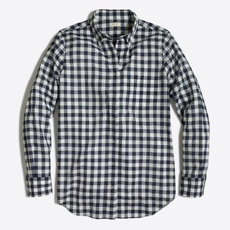 J.Crew Gingham classic button-down shirt in boy fit