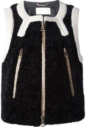 Chloé shearling vest