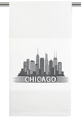 Mariasch Studios Chicago Skyline Kitchen Towel