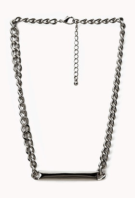 Forever 21 Minimalist ID Necklace