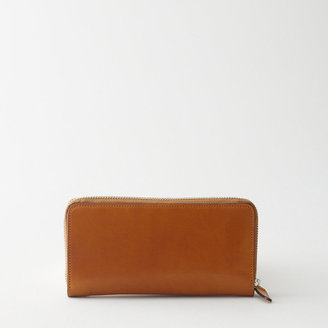 Il Bussetto horizontal zip wallet