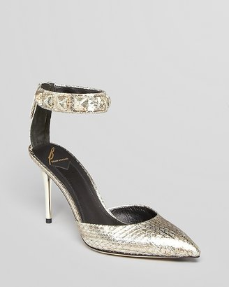 Brian Atwood Pointed Toe Evening Pumps - Mercada High Heel